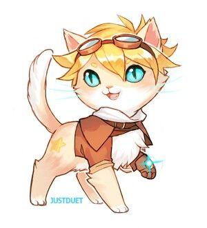 Ezreal Cat :3