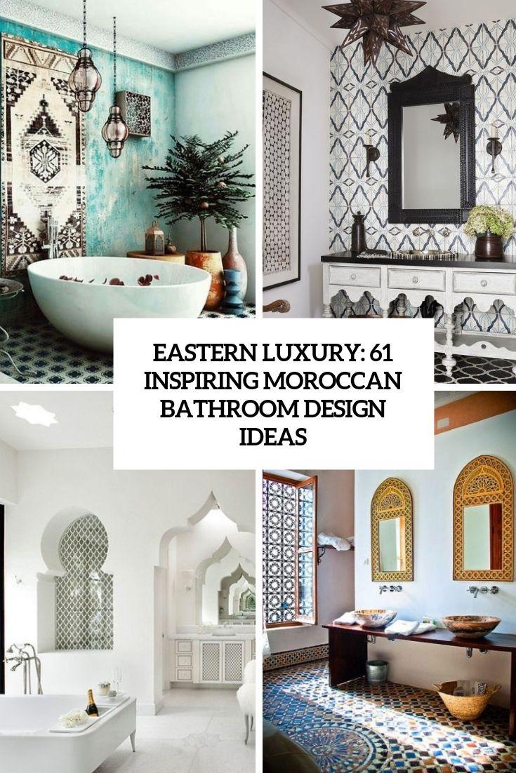 6 Inch Bathroom Tiles Moroccan Bathroom Moroccan Inspired