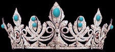 The Chaumet tiara of Queen Eugenie of Spain