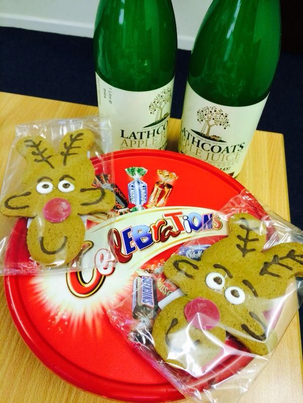 We were given some lovely Christmas goodies from Objective IT! Thank you :) - http://www.objectiveit.com/