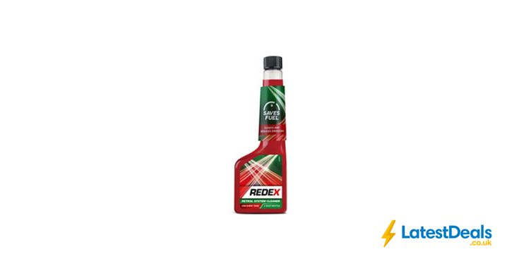 Redex Petrol Injector Fuel System Cleaner 250ml *HALF PRICE* Free C&C, £2 at Wilko