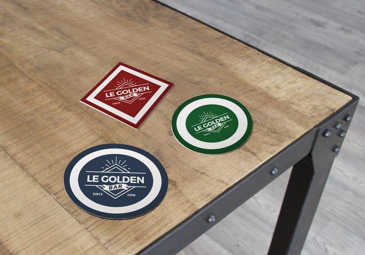 Protege la mesa y a la vez comunica tu marca con los posavasos.