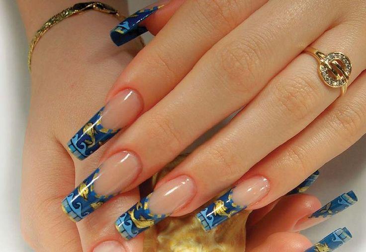 Дизайн ногтей мыши сыр