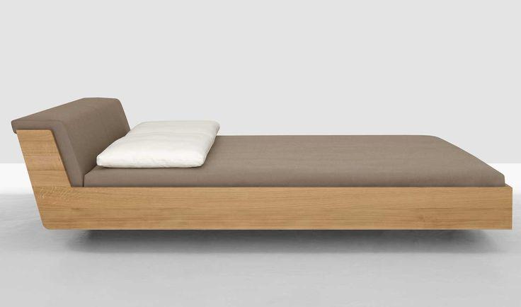 Bett Fusion (inkl. Polster) Eiche | 160 x 200 cm