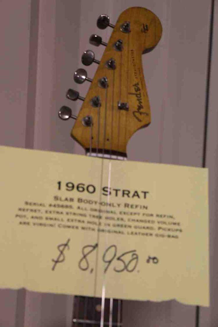 1960 fender stratocaster price tag
