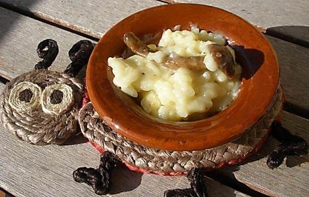 Risotto de setas hecho en thermomix #recetas #thermomix #arroz #risotto