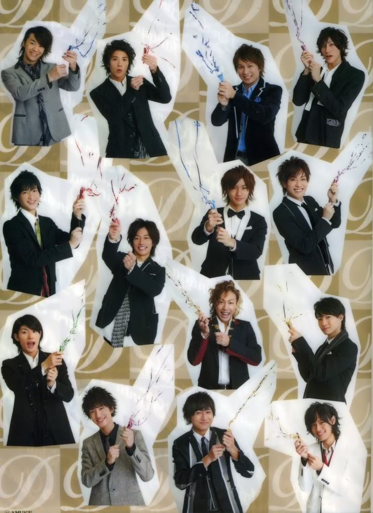 Nyaaaaa ! Its almost about the time to wish: a Happy another year - with all AMUSE Boys for all of us :D !