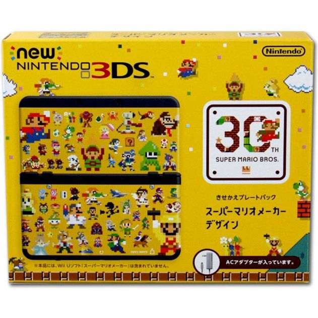 Nintendo 3ds Mario Games : New nintendo ds cover plates pack super mario maker