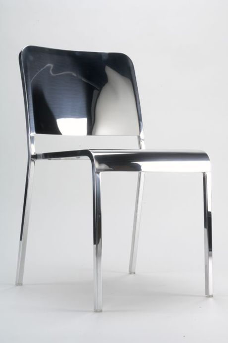 """Norman Foster 75th Birthday """"Light"""" Emeco 20-06 Chair - norman is one of the world's greatest living architects"""