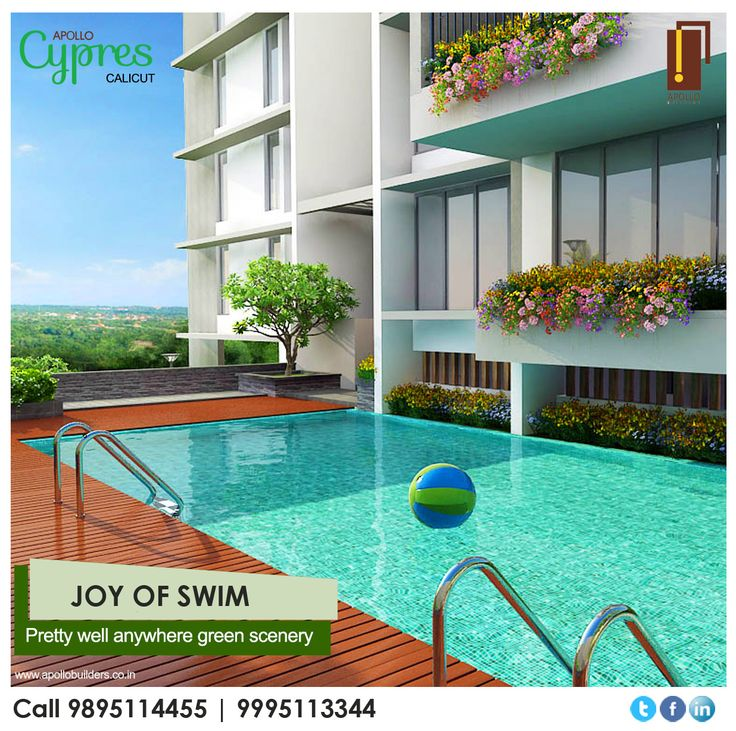 There is a relationship between the water and nature, it can be an incredible source of inner strength and relaxation. We have created for you a pretty well green scenery in Apollo Cypress Calicut. Know more: https://goo.gl/HxqJAe