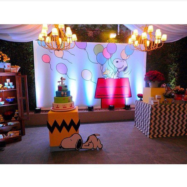 Snoopy ❤️ #festainfantil #festasnoopy #bdayparty #fiestasinfantiles #cumpleaños…