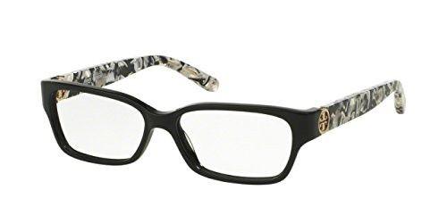 c1068dc2b11 Tory Burch TY2025 TY2025 Eyeglass Frames 3155-51 - Black black White Marble
