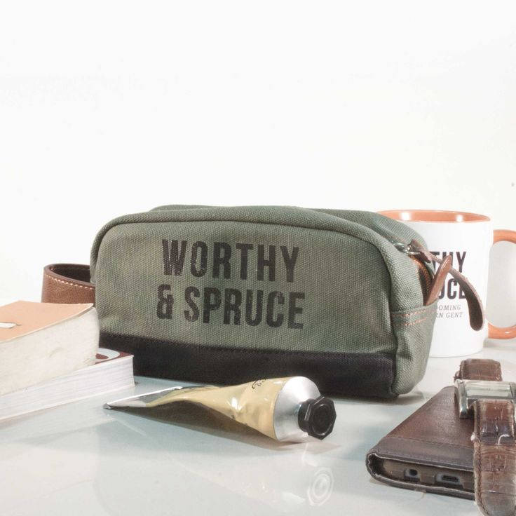 Dopp Kit Toiletry Bag from Worthy & Spruce