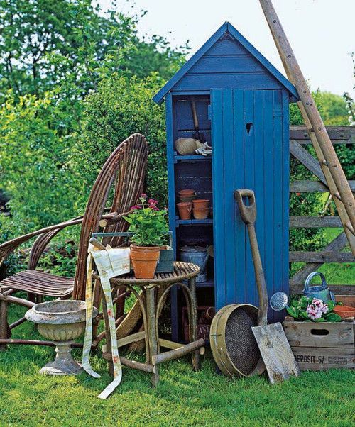 Little Garden Shed So Cute Sheds And Coops Pinterest