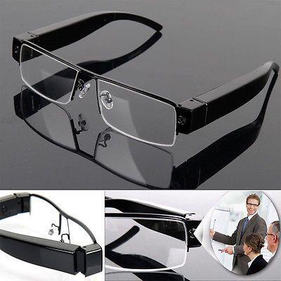Newest Cute HD Digital Video Spy Camera Glasses Cam Eyewear DVR Hidden Camcorder