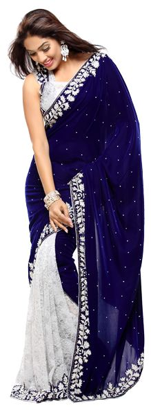 Royal blue and white, lovely colour combination!  Website : http://www.bhartistailors.com/ Email : arvin@bhartistailors.com If you like this Like Our Page :https://www.facebook.com/bhartis.tailor