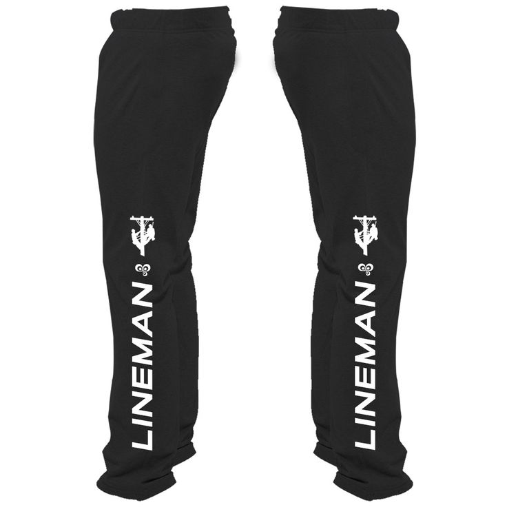 These shockingly amazing sweatpants are especially made for linemen. Add a little voltage to your day! A special thank you to all those linemen out there because we know working with electricity take