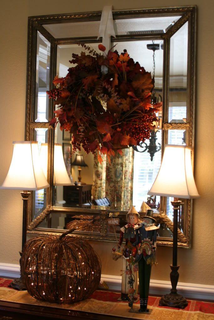 93 Best Decor Mirror Amp Wreath Images On Pinterest