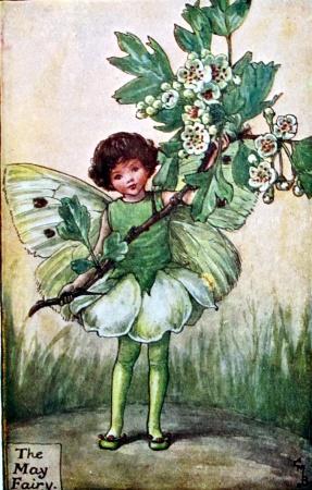 Cicely Mary Barker the May fairy