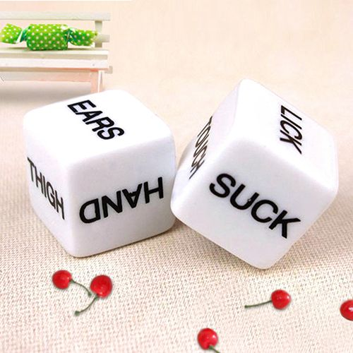 Pair of Dice for Erotic Games // Price: $7.95 & FREE Shipping //    #boardgame #cardgame #game #puzzle #maze