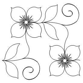sencillas flores