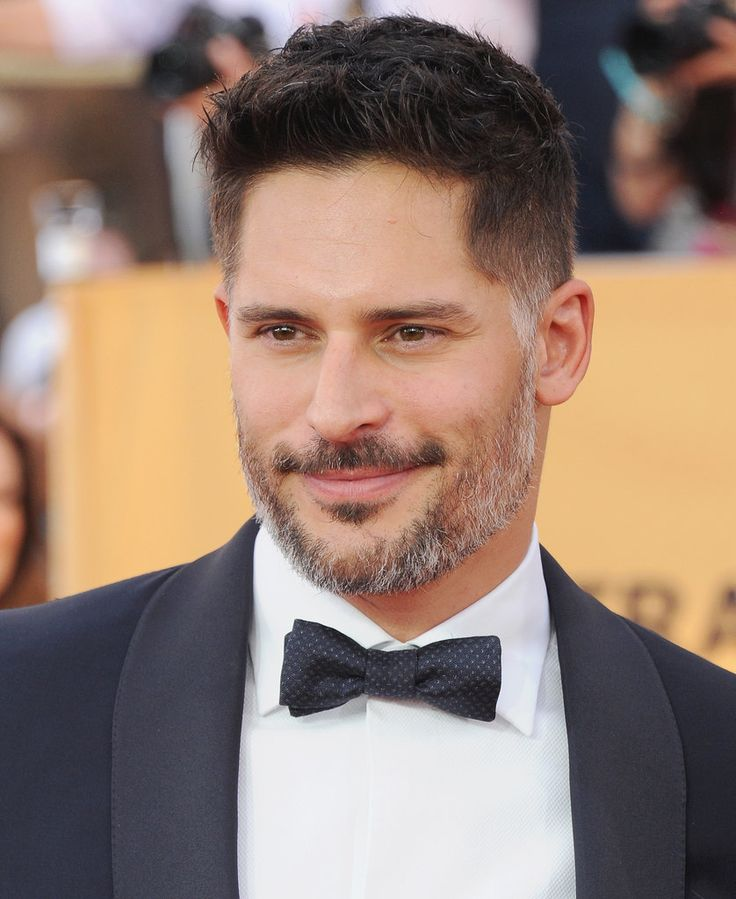 Hot Celebrities With Gray Hair: Joe Manganiello | POPSUGAR Celebrity
