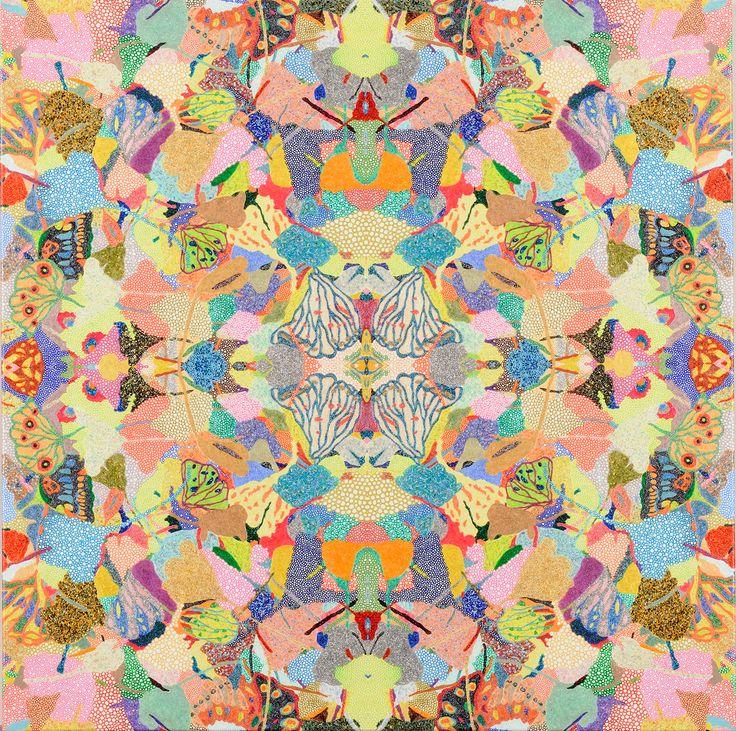 銀蝶界曼荼羅 / Tomoaki TARUTANI #ART #Contemporary ART #POP ART #Mandala #曼荼羅