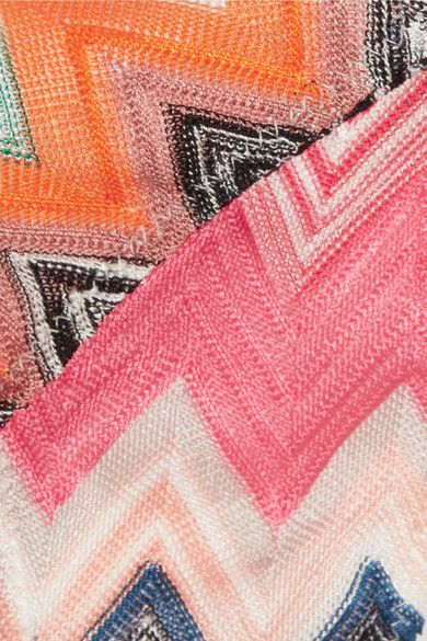 Missoni - Crochet-knit Bikini - Pink - IT42