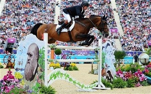 Great Britain win dramatic team showjumping gold after jump-off against Holland at London 2012 Olympics
