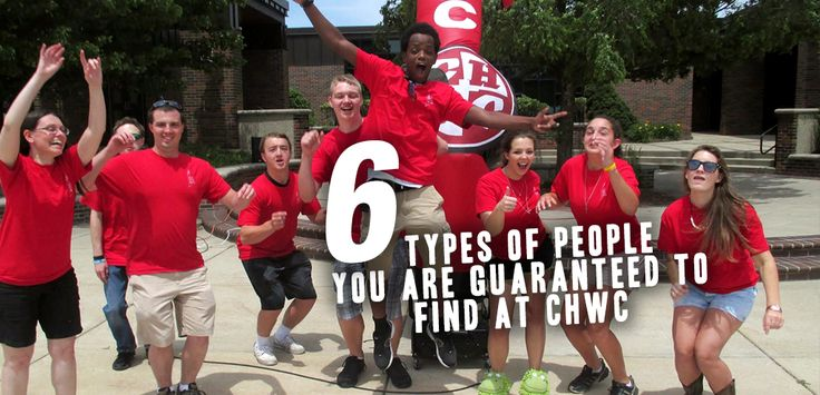 6 types of people you are guaranteed to see at CHWC