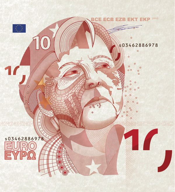 Merkel Portrait