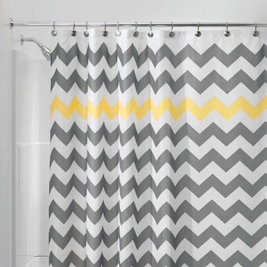 multi color chevron shower curtain. Chevron Fabric Shower Curtain 226 best Curtains images on Pinterest  curtains