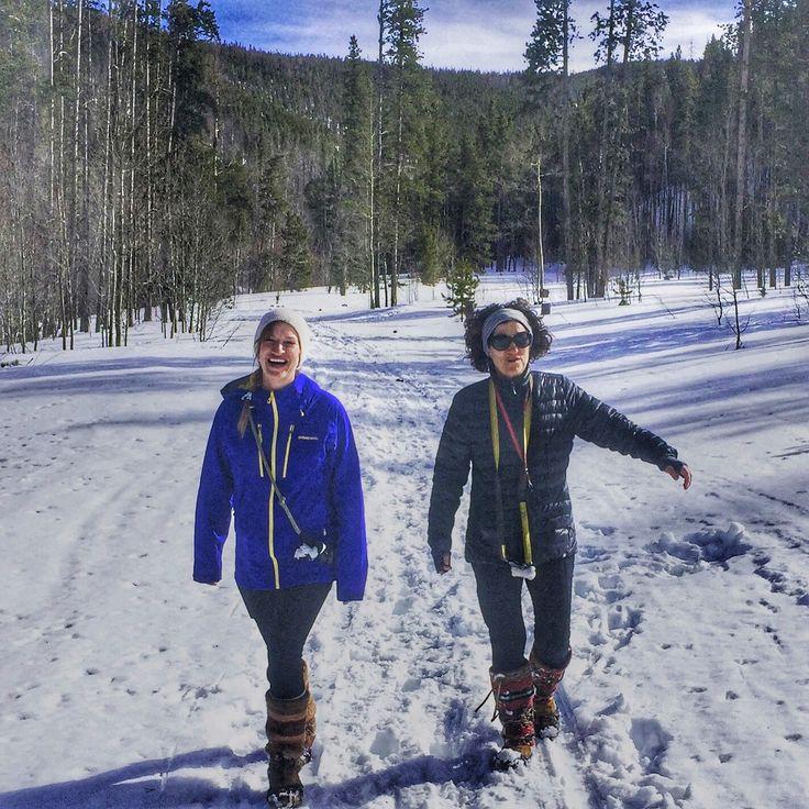 Bonnie Bogen with Elizabeth Bogen - Finally a boot that lets me keep up with my daughter - Frisco, CO #mukluk #stegermukluks