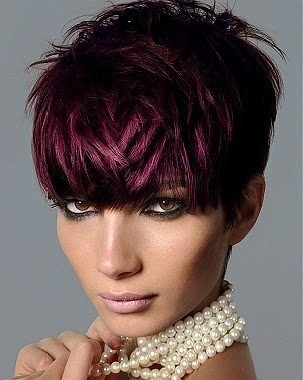 This hair style is crazy amazing, the color sets it off.