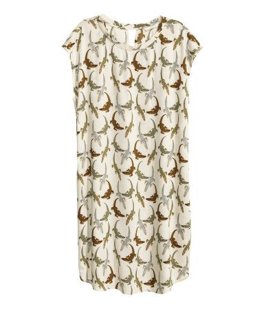 Patterned dress | Ladies | H&M NZ