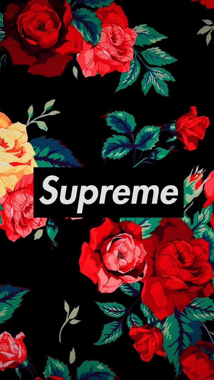 Like this Supreme iphone wallpaper
