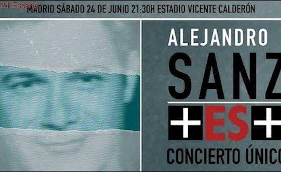 Alejandro Sanz - Concierto ÚNICO +ES+ (Vicente Calderón Madrid 24-06-2017)