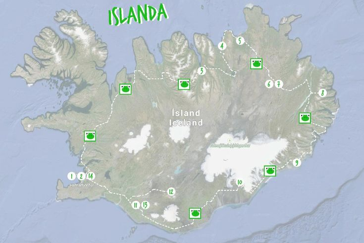 Itinerario di viaggio in Islanda