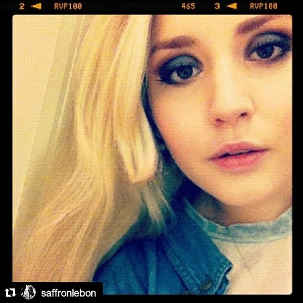 Saffron Le Bon via Saffron's Instagram account
