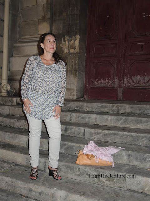Celia M. ~ Living My High Heeled Life: 3 Essentials For Strolling in Paris - What I Wore