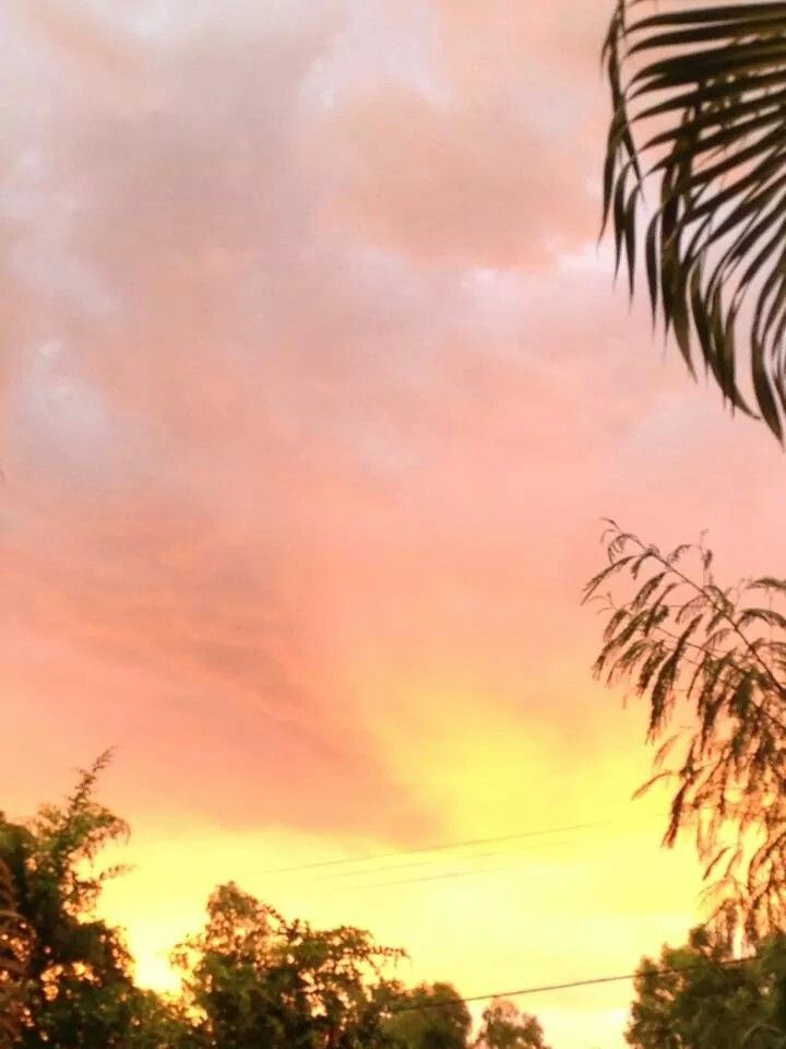 Townsville sunset after a storm
