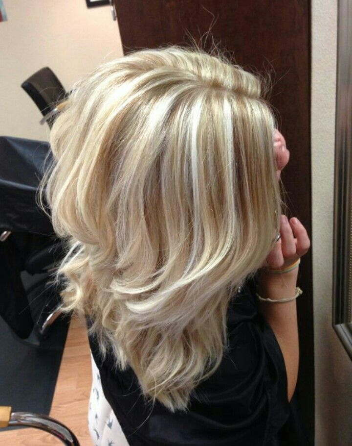 Cool blonde!
