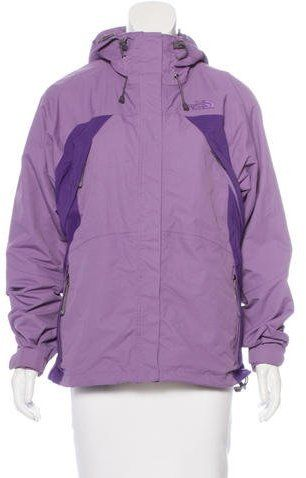 The North Face Hooded Windbreaker Jacket