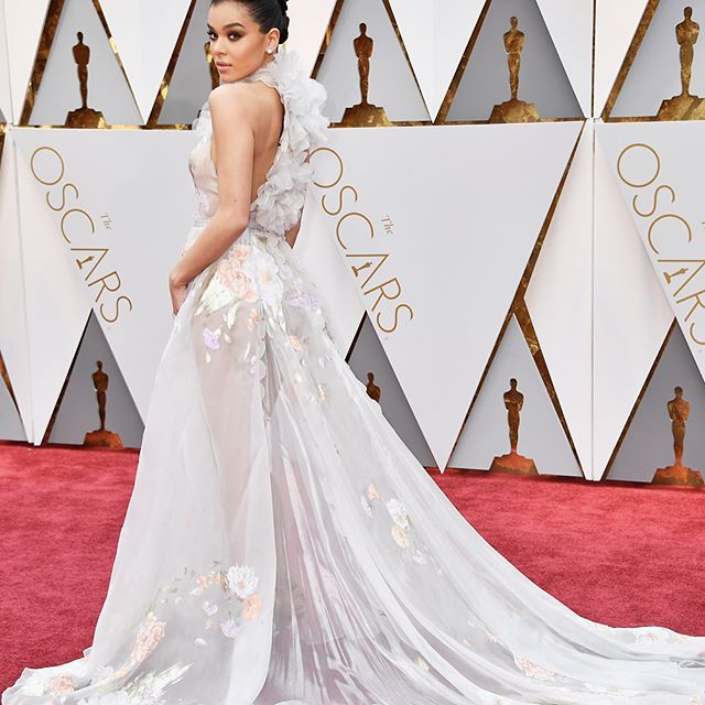 From her @RalphandRusso gown to her hair and jewels @HaileeSteinfeld is bringing her A-game to the #Oscars red carpet. Swipe through for all the details.  via HARPER'S BAZAAR MAGAZINE OFFICIAL INSTAGRAM - Fashion Campaigns  Haute Couture  Advertising  Editorial Photography  Magazine Cover Designs  Supermodels  Runway Models