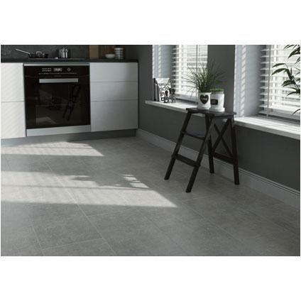 13/m² - 30x60, 8,5mm, PEI 4 - Vloer- en muurtegel 'Serenity' grijs 29,7 x 59,8 cm