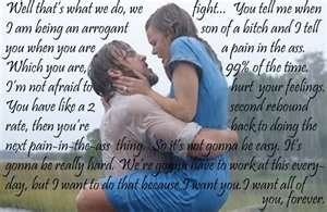 The Notebook quotes Movie Quotes Database