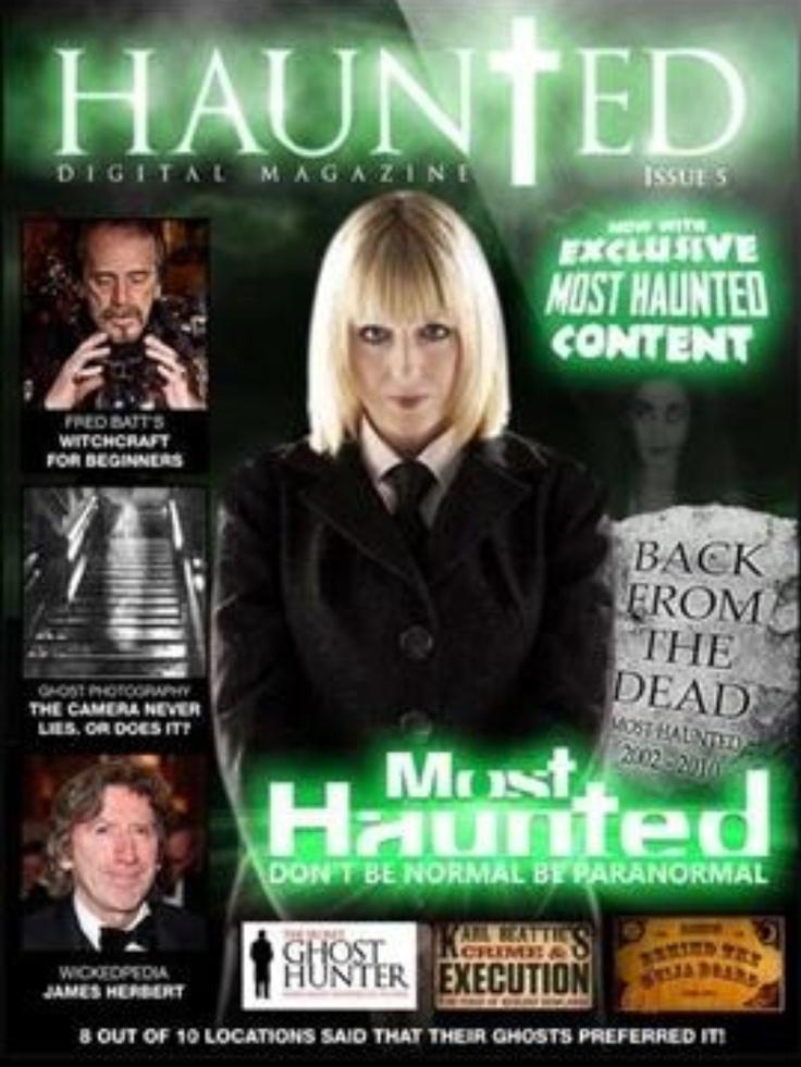 Celebrity ghost stories uk yvette fielding