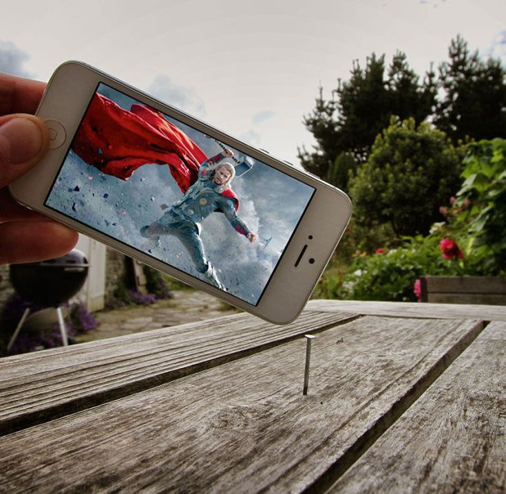 Thor (2011). 19 Creative Photos That Perfectly Combine Movie Moments With Real Life • Page 4 of 6 • BoredBug