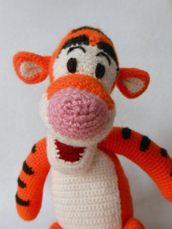 22 best crochet winnie the pooh images on Pinterest | Juguetes de ...