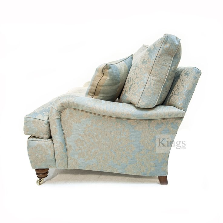 Duresta Lansdowne 2 Seater in Tonbridge Duck Egg Blue. Sofa 176cm Wide x 90cm Height x 107cm Depth. In as new condition and for immediate delivery. Manufactured to the highest standards by Derbyshire's premier upholstery manufacturer. Was £3132 Now only £2045 http://www.kingsinteriors.co.uk/clearance/duresta-lansdowne-2-seater-in-tonbridge-duck-egg-blue